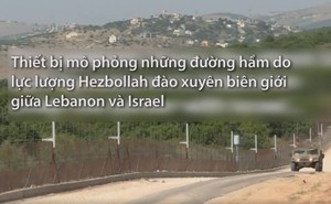 Đặc nhiệm Israel dùng kính thực tế ảo huấn luyện chiến đấu trong đường hầm