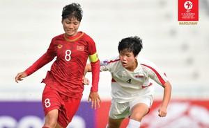Việt Nam nhận trận thua 10 bàn không gỡ trước Triều Tiên tại giải vô địch châu Á
