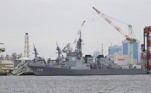 Thần may mắn mỉm cười: Khu trục hạm Aegis tối tân của Nhật thoát nạn trong gang tấc