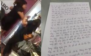 """Tát nữ sinh tới đòi lương, chủ shop viết thư tay xin lỗi: """"Tôi thấy mình đã sai"""""""