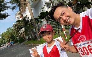 Cuộc chạm mặt công khai đầu tiên của Cường Đô La và Kim Lý khi cả hai cùng làm điều này cho bé Subeo