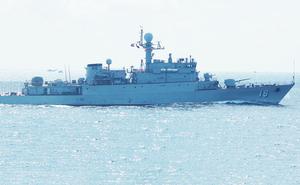 Tinh hoa vũ khí Việt: Tàu hộ vệ săn ngầm 18 từ Hàn Quốc của Việt Nam thực hiện nhiệm vụ quốc tế quan trọng