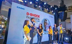 Giới trẻ trải nghiệm sân chơi 'G-Shock Fan Festa'
