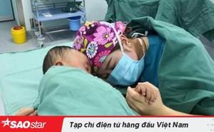 Bức ảnh nữ y tá an ủi cậu bé 2 tuổi khóc vì sợ phẫu thuật gây sốt mạng xã hội