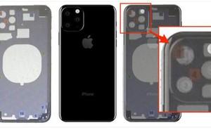 iPhone 11 là đây: Cụm 3 camera nằm trong hình vuông nhưng lại xếp lệch theo hình tam giác