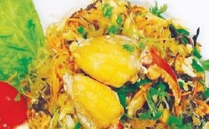 Món ăn thuốc từ cua biển