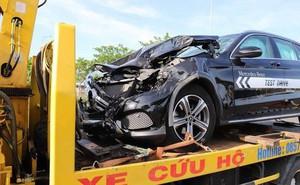 Nam thanh niên lái Mercedes chạy thử gây tai nạn liên hoàn