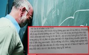 Tâm thư thầy giáo Tiền Giang gửi cho học trò lớp 12: Kiến thức thầy truyền đạt hết rồi, việc còn lại là của các em...
