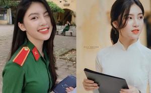 'Nổi như cồn' khi diện quân phục đi thi đại học, nữ sinh hot nhất MXH mấy ngày qua là đây!