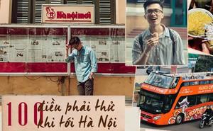 """Nghìn share cho bài viết """"100 điều phải thử khi tới Hà Nội"""", bạn đã thử được bao nhiêu việc rồi?"""