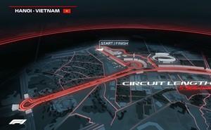 """Rào chắn nhiều tuyến đường Hà Nội để xây """"Thánh đường tốc độ"""" F1"""