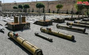 Chiến sự Syria: Điều bất ngờ bên trong kho vũ khí khổng lồ khủng bố giấu dưới lòng đất ở Quneitra
