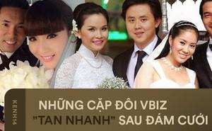 Vbiz cũng có loạt vợ chồng đổ vỡ chỉ sau vài năm chung sống, thậm chí đấu tố cả thập kỷ vì tranh chấp tài sản
