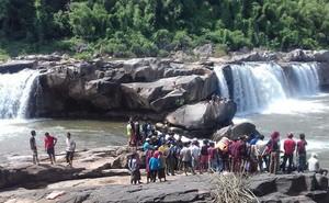 Tắm thác, 3 thanh niên bị nước cuốn mất tích