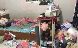 Dân mạng phát hoảng với căn phòng của nữ sinh đại học y mà trông giống hệt bãi rác mini