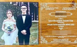 Hé lộ thiệp cưới thiết kế độc đáo và loạt quy định khắt khe trong đám cưới của con gái đại gia Minh Nhựa