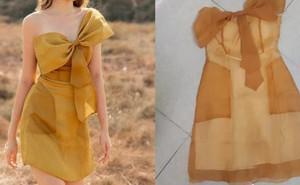 Chi 520k mua phải váy vừa fake lại vừa rởm, cô gái cạn lời khi biết hàng thật có giá hơn 3,7 triệu