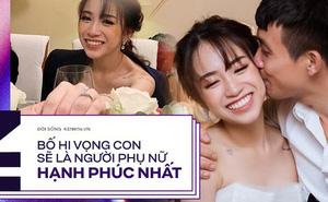 Dặn dò xúc động của đại gia Minh Nhựa gửi con gái nhỏ ngày cưới: Nhiều tiền cỡ nào đến cuối cùng quý giá nhất chỉ có hạnh phúc thôi!