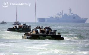 Ba lực lượng quân đội Trung Quốc cùng tập trận tấn công gần Đài Loan