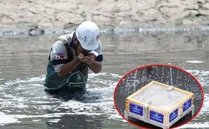 Mưa lớn kéo dài có ảnh hưởng đến dự án làm sạch sông Tô Lịch?