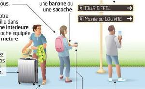Bùng phát nạn móc túi ở Paris