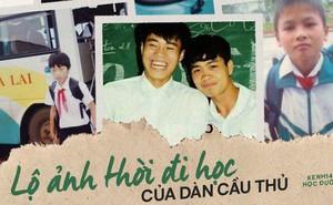 Ảnh hiếm thời đi học của dàn cầu thủ Việt: Ai cũng nhìn cực ngố tàu, riêng Xuân Trường gây bất ngờ với thành tích học tập khủng