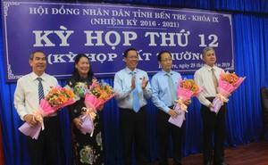 Thủ tướng phê chuẩn 2 Phó chủ tịch UBND tỉnh Bến Tre