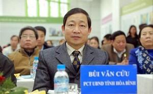 Cảnh cáo Phó Chủ tịch tỉnh Hòa Bình