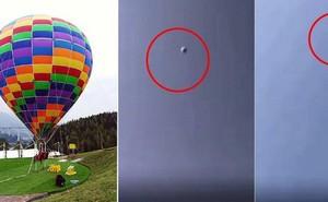 Khinh khí cầu phát nổ ở độ cao 3048m khiến hai mẹ con hành khách tử vong thương tâm
