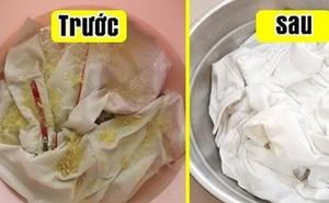 Tẩy trắng áo quần cực hiệu quả với nguyên liệu bếp nhà nào cũng có