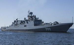 """Chiến hạm Nga mới tập trận ngoài khơi Syria """"khủng"""" cỡ nào?"""