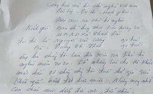 Cặp vợ chồng 90 tuổi ở Hà Tĩnh viết đơn xin rút khỏi hộ nghèo