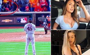 Hai cô mẫu xinh đẹp nhận án phạt cực nặng vì khoe ngực trên sân bóng, lý do được bộ đôi này đưa ra thì không ai chấp nhận nổi