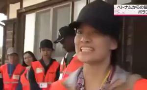 Du học sinh Việt gây sốt truyền thông Nhật vì hành động đẹp sau cơn bão số 19