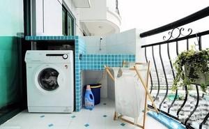 Đặt máy giặt thế này bảo sao Thần Tài ưng ý, ban lộc chật nhà