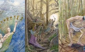 Rút một lá bài Tarot để khám phá chuyện tình cảm của bạn sẽ thăng hoa lãng mạn hay ảm đạm u sầu trong thời gian tới