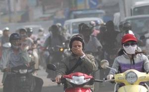 Ngưỡng ô nhiễm chưa từng thấy xuất hiện ở Hà Nội