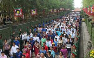 Lễ giỗ tổ Hùng Vương được tổ chức quy mô cấp quốc gia
