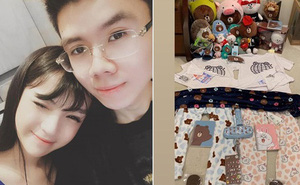 Vừa nối lại tình xưa, thiếu gia Phan Hoàng đã tặng Khánh Hà cả núi đồ đạc, book vé đi Thái Lan trong đêm chỉ vì bạn gái thèm kem cuộn