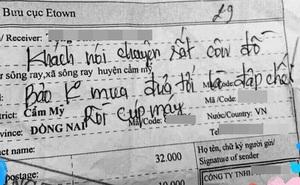 """Shipper khốn khổ giao bưu kiện gặp ngay khách côn đồ, đã không lấy hàng lại còn dọa: """"Mang đến là đập chết ngay"""""""