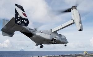 Thủy quân lục chiến Mỹ nhận máy bay MV-22 Osprey nâng cấp đầu tiên