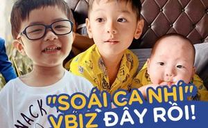 """4 nhóc tỳ đúng chuẩn """"soái ca nhí"""" của Vbiz: Con trai Trà My như hotboy, quý tử Đan Trường 2 tuổi đã có tài sản khủng"""