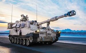 Lục quân Mỹ bổ sung pháo M109 thế hệ mới