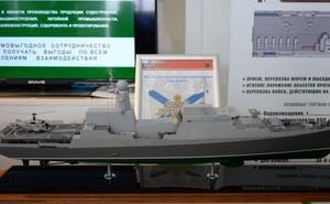 Nga giới thiệu biến thể tàu chiến lớp Gepard nâng cấp cực mạnh: Tuyệt hảo cho khách hàng