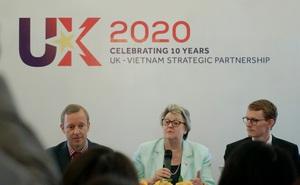 """""""Anh cam kết mạnh mẽ với Việt Nam về vấn đề an ninh, trong đó có an ninh biển"""""""