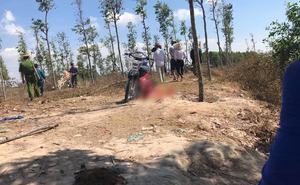 Thanh niên gục chết sau đuôi xe máy bên bờ hồ ở Bình Dương ngày mùng 4 Tết