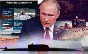 """Nga chơi chiêu cũ – """"vô tình để lộ"""" tàu ngầm bí mật: Lời đáp trả cực gắt dành cho HQ Mỹ"""