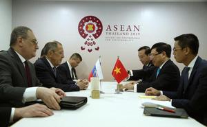 Ngoại trưởng Lavrov: Sau 70 năm, đối thoại Nga-Việt mang tính đặc biệt