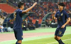 """""""Nhấn chìm"""" Bahrain trong mưa bàn thắng, U23 Thái Lan khởi đầu mĩ mãn tại giải U23 châu Á"""