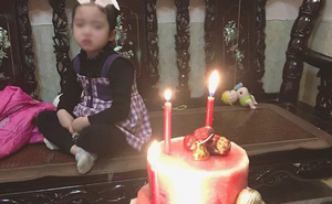 """Sinh nhật trùng Tết, cô bé khóc rưng rưng trước chiếc """"bánh kem"""" được bố tặng: Nỗi đau chỉ những ai sinh tháng 1, 2 mới hiểu!"""